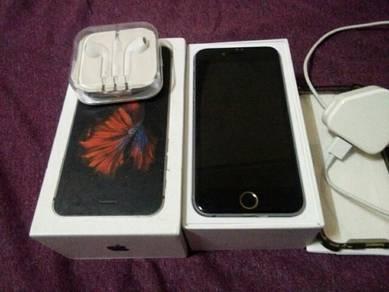 Iphone 6 64gb grey original myset fullset