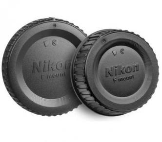 Lens Cap & Body Lens Cap for Nikon F Mount