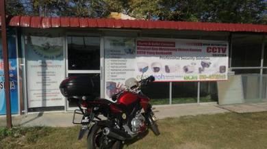 Kedai cctv di pokok sena