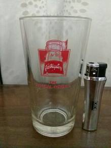 119 Gelas yeo hiap seng glass not coke pepsi cup