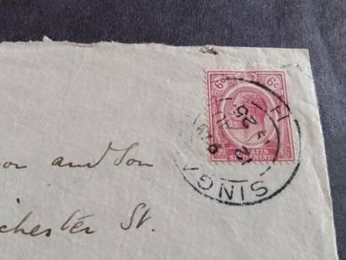 Antik Cover Straits Settlements 1925 No 3139