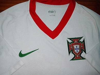 Authentic PORTUGAL Away Football Jersey 2008-2010