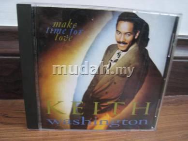 CD Keith Washington - Make Time For Love