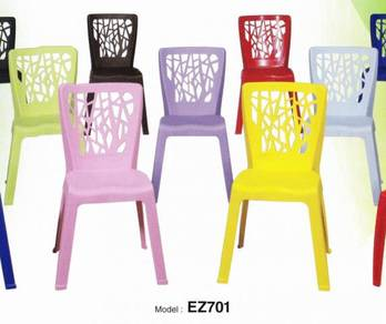 Plastic Restaurant Cafe Canteen Chair