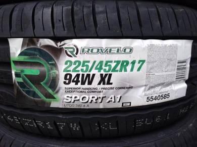 225/45/17 Rovelo Sport A1 Tyre 2019 Tayar