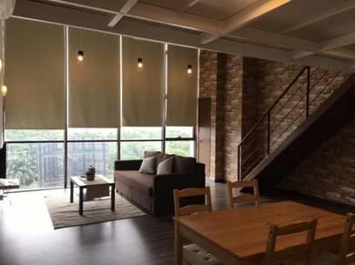 SOHO Duplex Scott Garden for Rent