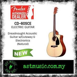 Fender cd60sce CD-60SCE Solid Top Acoustic
