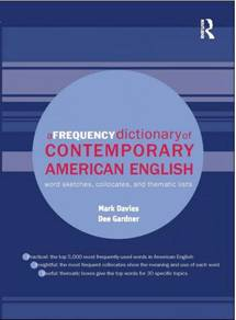 A Frequency Dictionary of Contemporary American