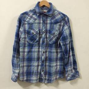 CRU Casual Boy Friend Shirt Size M