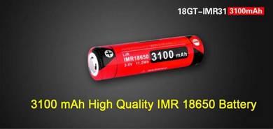 Klarus IMR 18650 18GT-IMR31 Li-ion 3100mAh Battery