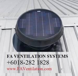 FW13QC Solar Powered Roof Ventilator Germany