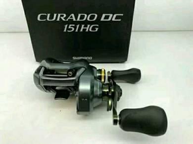 Shimano Curado DC 151HG