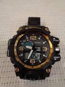 Limited Edition G-Shock Mens Watch Black/Gold Resi