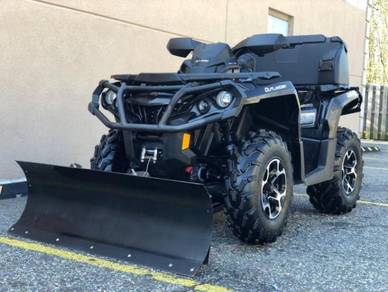 2006 YAMAHA GRIZZLY 660 4x4, WINCH, PLOW LOADER