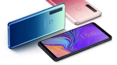 SAMSUNG Galaxy A9 (2018)6GB RAM| 4 Kamera Blkg-ORI