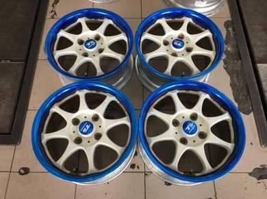 15x7J Ts Racing 2pc Japan Sport Rim 114.3x4