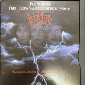 The Witches of Eastwick (DVD, 1997)