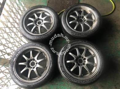 Original 17inch Work XD9 Sport Rims