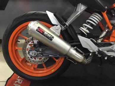 Mc Sport Exhaust For KTM Duke 200