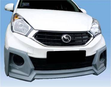 Perodua New Myvi Facelift 2015 Wald Bodykit PU