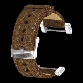 17rag suunto core leather brown strap