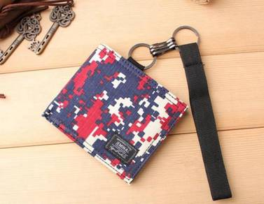 Jeminal camouflage canvas wallet 5 ab159