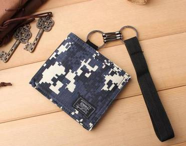 Jeminal camouflage canvas wallet 3 ab159