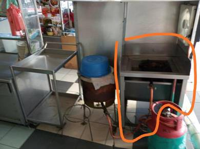 Stainless steel grill and fryer