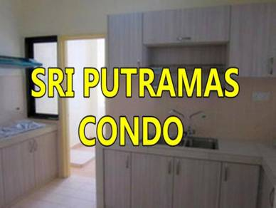 Sri Putramas [ T ] partly+SRI PUTRAMAS 1/2/3+pool view+4ac+mont kiara