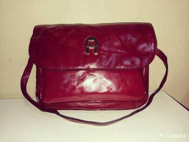 Shoulder Bag Leather Etienne Aigner