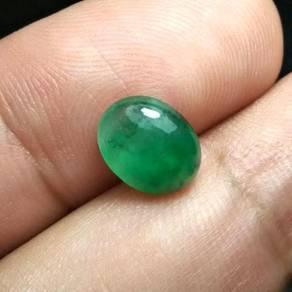Batu Zamrud Zambia Asli | Emerald E24