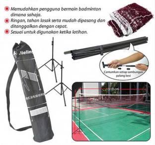Set of Stand/Net - Badminton (Senang Bawa)
