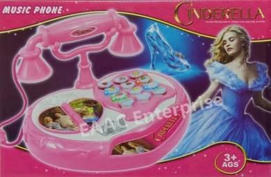 Cinderella Cute Musical Toys Telephone toys