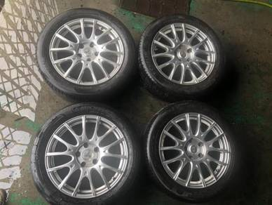 17inch Enkei SC08 Sport Rims with michelin tire