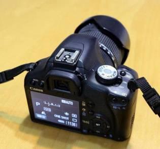 Camera DSLR Canon model 500D Kiss X3 Fullkit