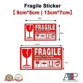 100 pcs fragile sticker 10