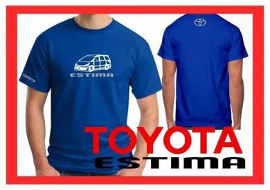 Baju T-Shirt TOYOTA ESTIMA NSQ57 siap poslaju