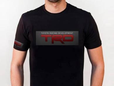 Baju T-Shirt TOYOTA TRD NSQ53 siap poslaju