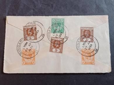 Antik Cover Straits Settlements 1935 No 3140