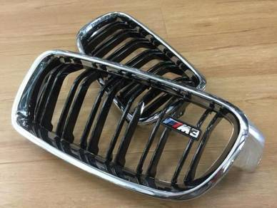 BMW F10 F30 Grille Original M3 M5 Style Grill 1:1