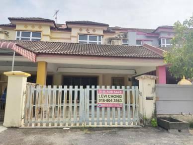 2 Storey House in Tesco Kampar, 90% family occupancy