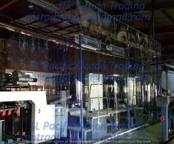 2mm x 1.2M Sheet Transparent Curtain