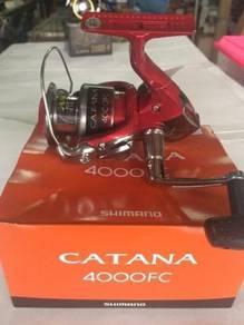 SHIMANO CATANA FC / RB Model Fishing Reel Pancing