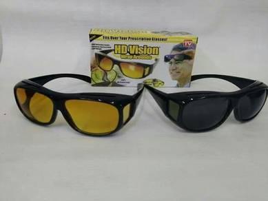 Double Glasses (Cermin Mata HD VISION Anti Silau)