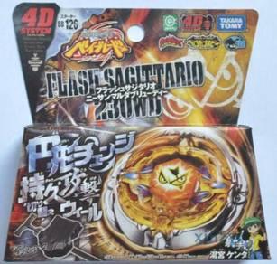 Takara Tomy Beyblades BB126 Metal Fusion Flash Sag