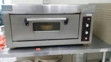 Ovens 2 unit (denagn meja stainless steel)
