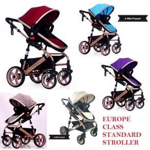 PARIS Premium High Premium Class Baby Stroller