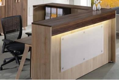 Reception counter set