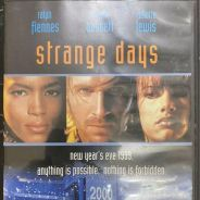 Strange Days DVD RARE OOP