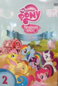 DVD MY LITTLE PONY Luna Eclipsed